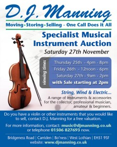 Specialist Musical Instrument Auction