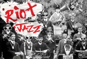 The Riot Jazz Brass Band Join Freak Music
