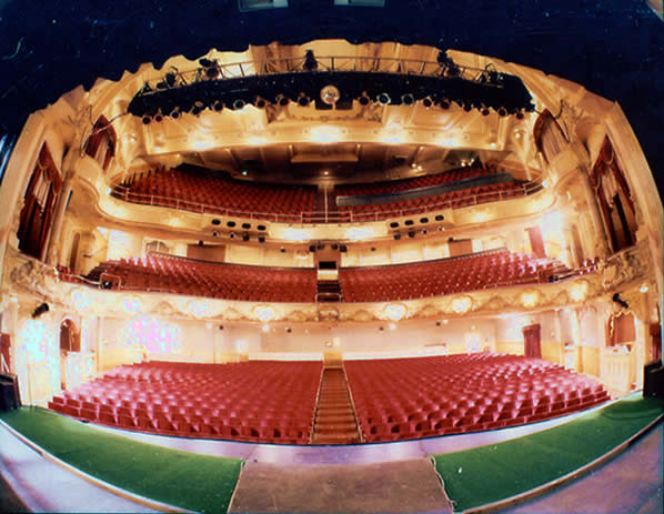The Pavilion from the stage