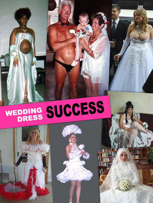 Wedding Dress For Hire Glasgow : Wedding dress fails