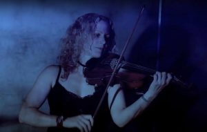 Skyrie's fiddle player