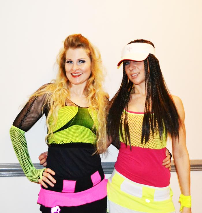 2. 90s Angels Duo - Fluro Outfits