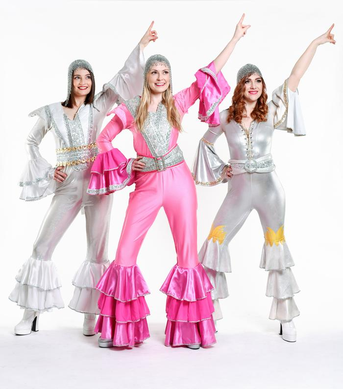 4. mama mia trio tribute - The Dynamos