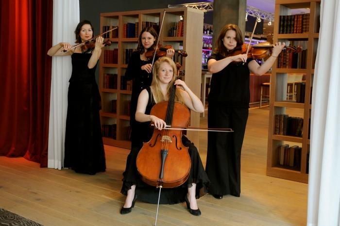 Akina String Quartet : main Freak Music profile photo