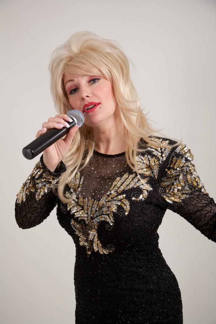 1. Andrea as Dolly.