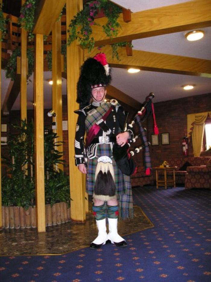 5. Full dress, Ancient Cameron of Erracht tartan