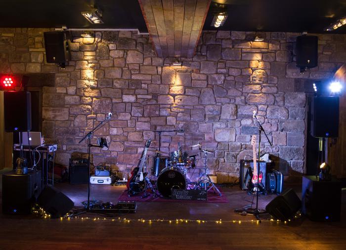 10. Andy Usher Band at Newton Hall