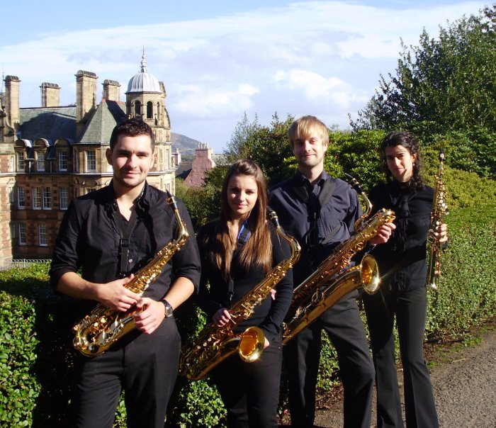 Banyuls Saxophone Quartet : main Freak Music profile photo