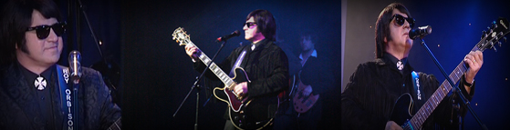 Barry Steele is Roy Orbison
