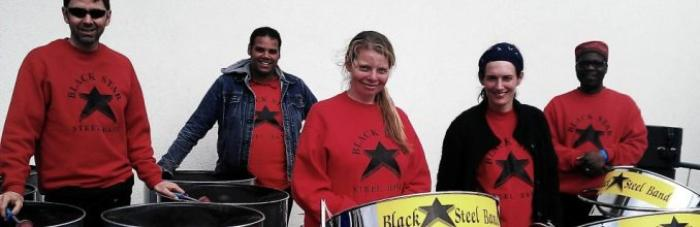 Black Star Steel Band : photo : Black Star Steel Band