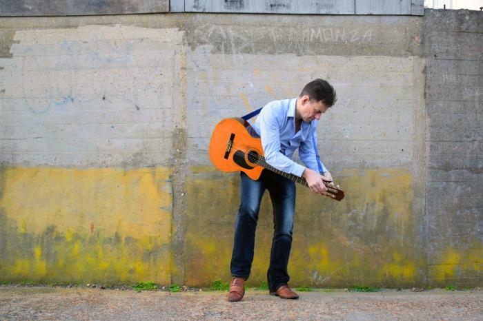 3. David Morgan - Lead Vocals and Guitar