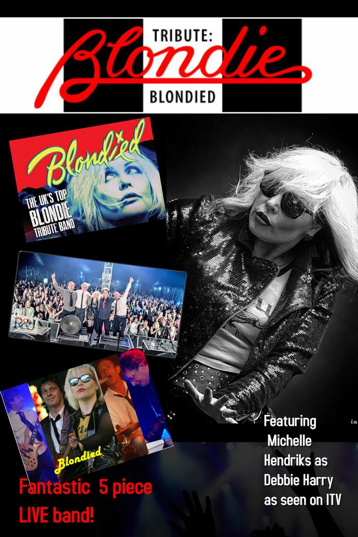 5. Blondied Poster