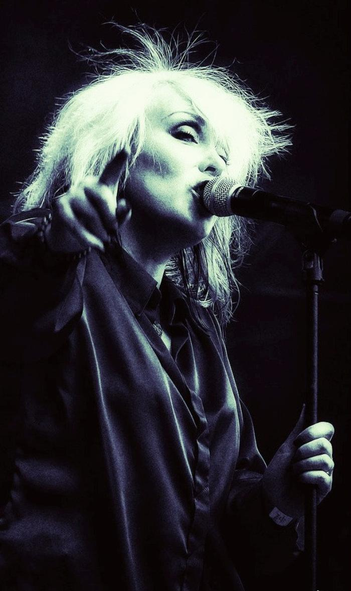 1. Michelle as Debbie Harry live