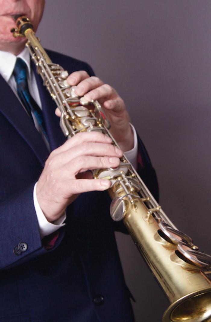 4. Steve on Soprano Sax