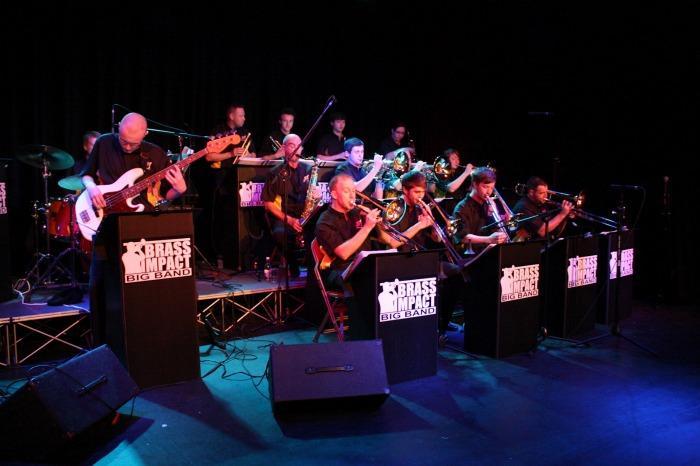 Brass Impact Big Band  : photo : Brass Impact