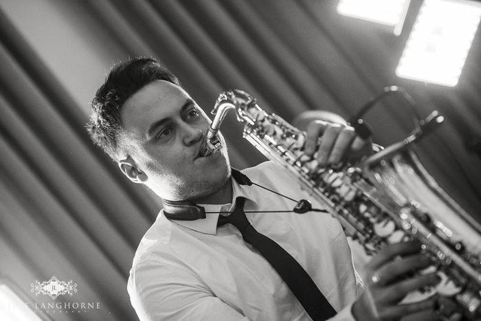 13. Sax Player