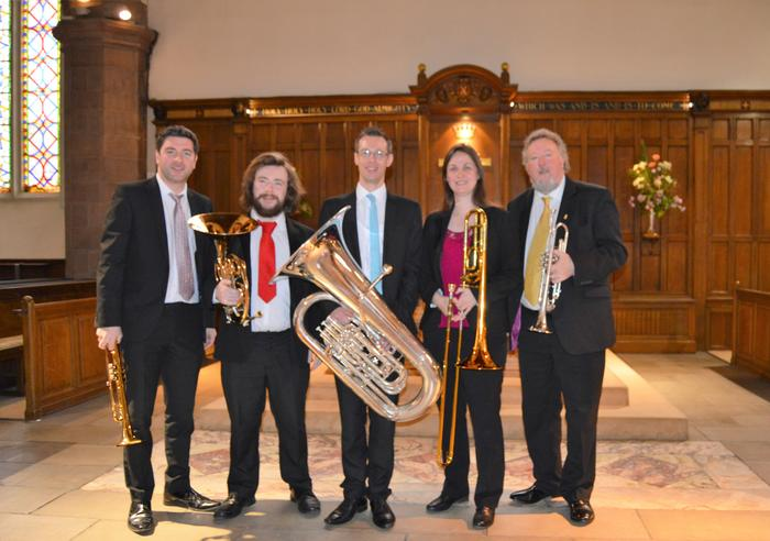 1. Brass Tracks Play Greyfriars Kirk Recital