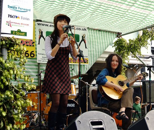 1. Camine at the Hop Festival