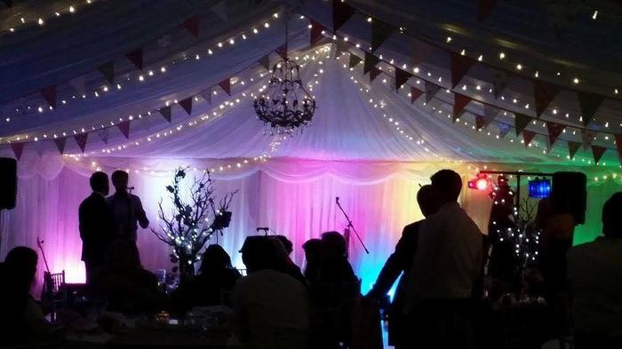 11. Nice exapmle of how our stage lighting lights up a marquee