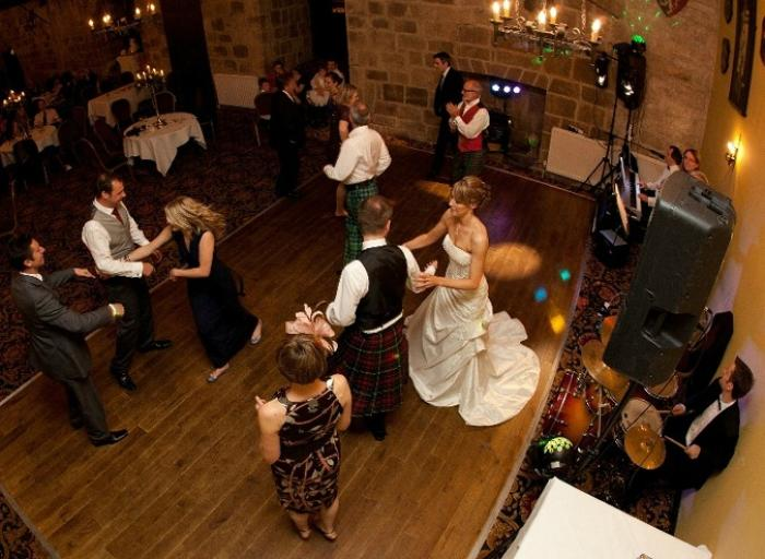 2. Ceilidh at Langley Castle