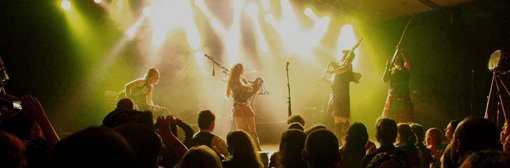 3. Celtica -Pipes Rock in Switzerland