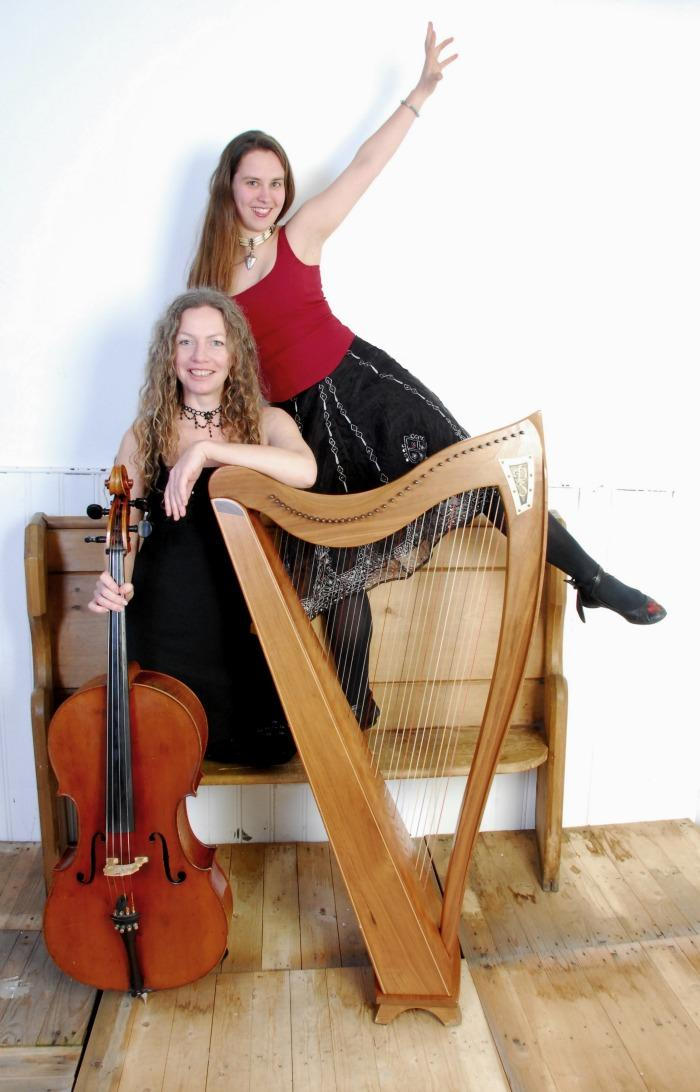 2. Harp and Cello duo