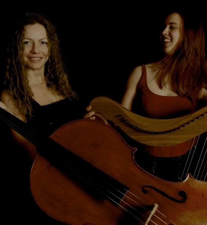 3. Harp and Cello duo