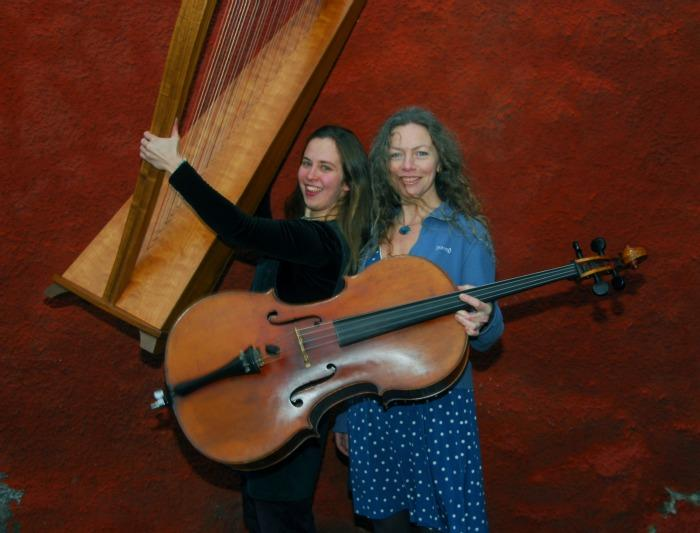 4. Harp and Cello duo