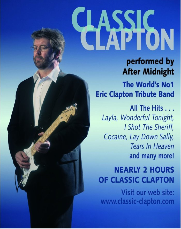 Classic Clapton : photo : CLASSIC CLAPTON flyer