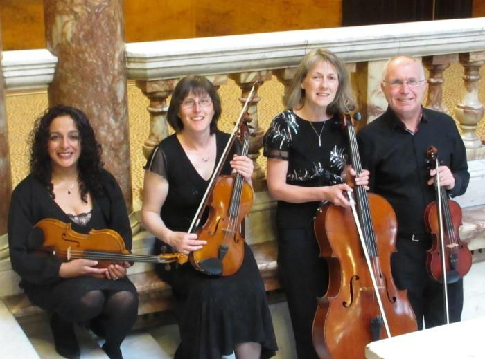 1. The Cleveden Quartet at  Glasgow City Chambers