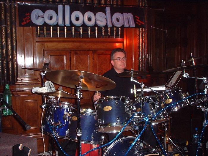 4. Martin on Drums