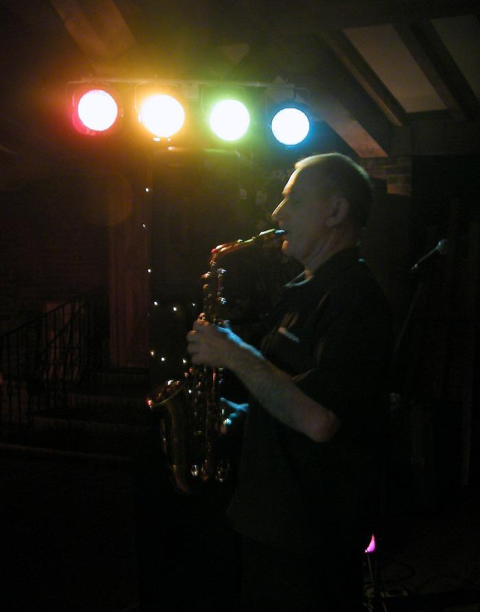 5. Chris on Sax