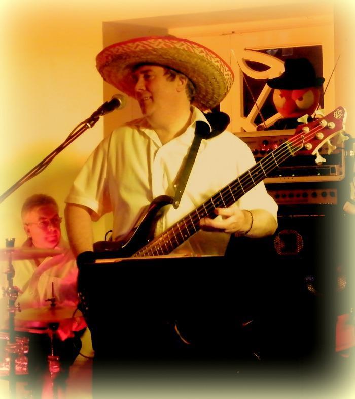 8. Brad on Bass