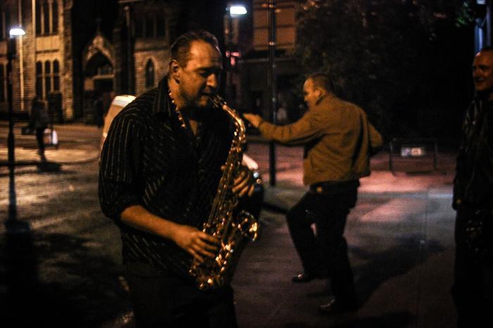 2. Jazz Saxophone, Street Jazz - Background dancer