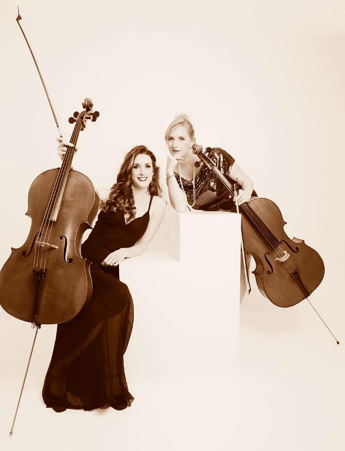 Cupid's Bow Cello Duo : main Freak Music profile photo