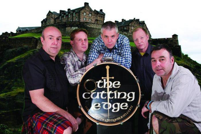 The Cutting Edge Ceilidh Band : photo : Cutting Edge 1