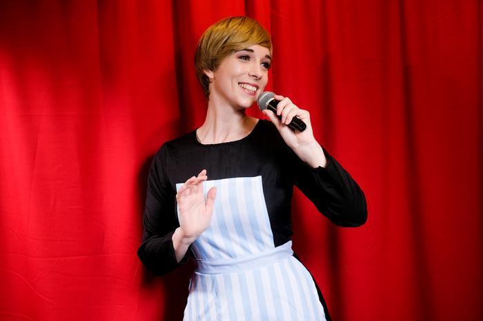 1. Julie as Maria