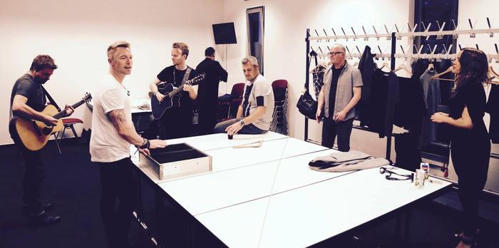 5. Back Stage With The Ronan Keating Band