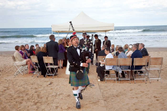 1. Beach Wedding