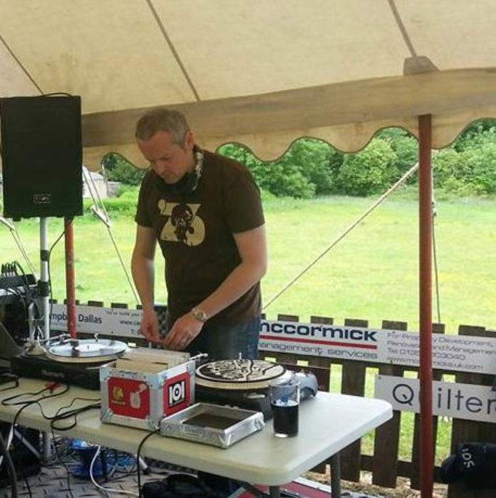1. soundcheck at Whitecraigs Festival 2015