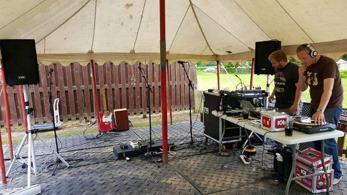 4. soundcheck @ Whitecraigs Festival 2015