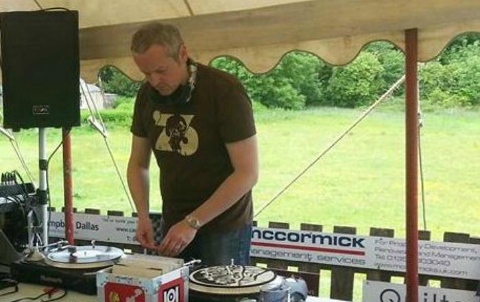 6. soundcheck at Whitecraigs Festival 2015