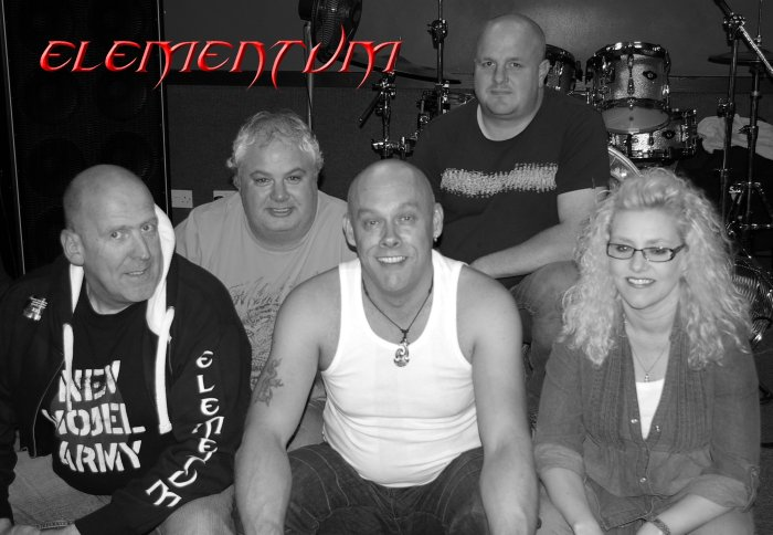 Elementum : photo : The Band....!