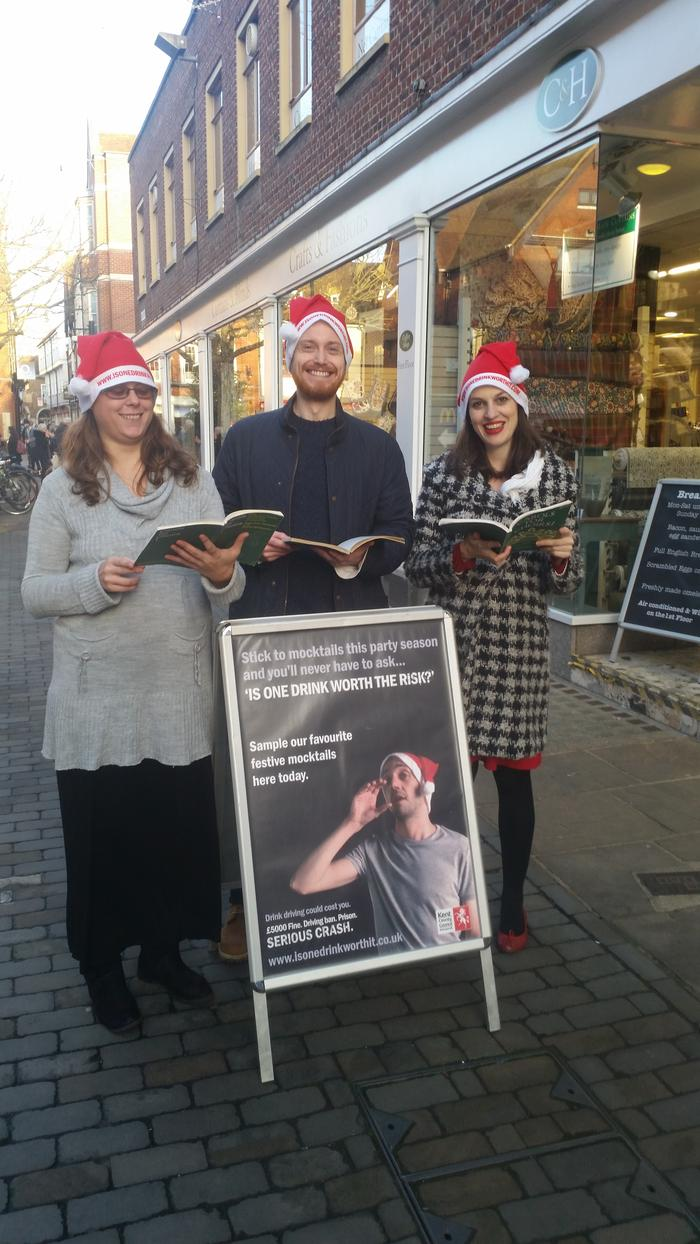 5. Carol singing for Kent County Council
