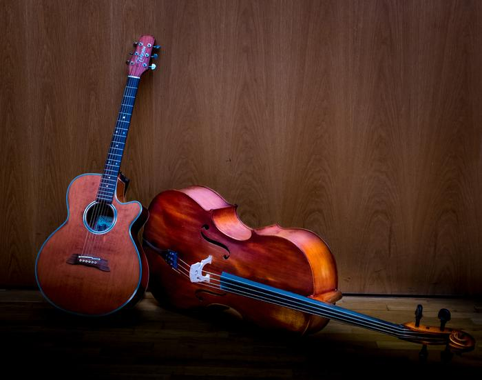 1. Cello and Guitar