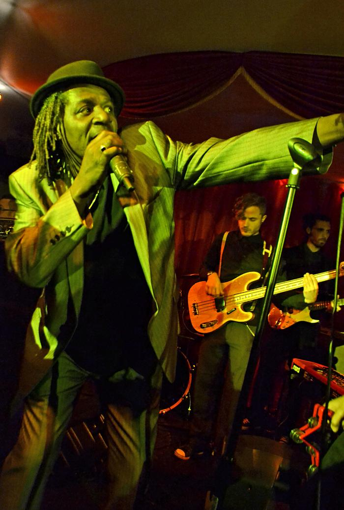 9. Neville Staple (the Specials) Guest singing with us
