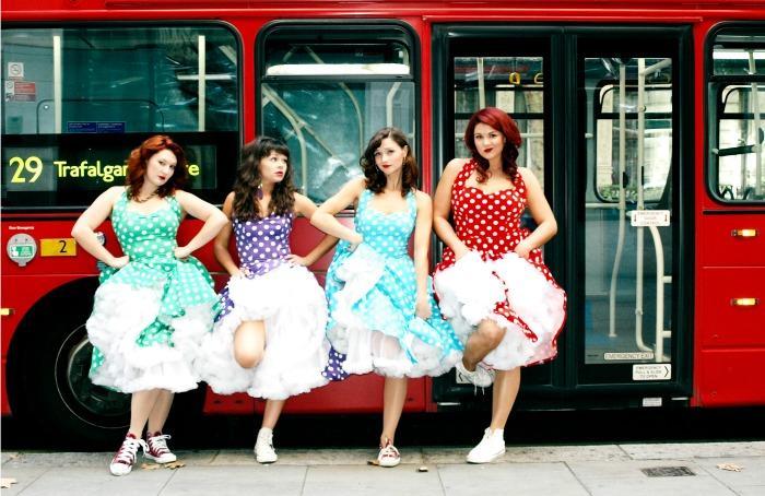1. Four Femmes on the Thames