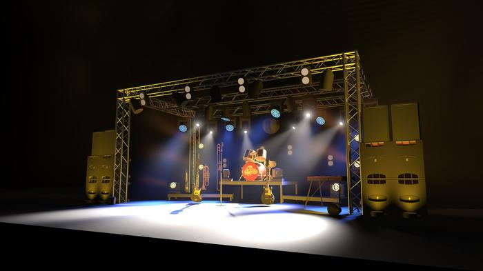 8. Our Truss sound & lighting package
