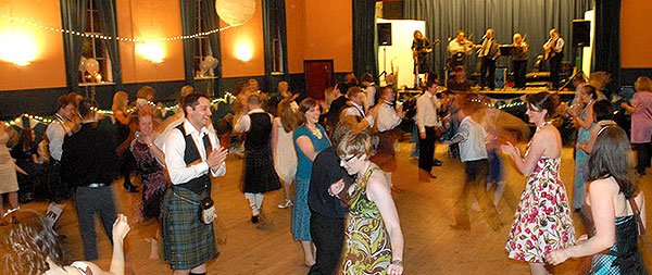 Funkeilidh Ceilidh Band : photo : Edinburgh Church Hall Wedding Reception