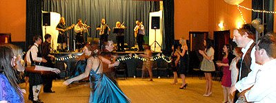 Funkeilidh Ceilidh Band : photo : Virginia Reel